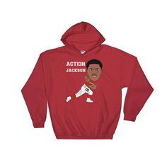 Action Jackson Cards Hoodie by AndraPremiumBoutique now at http://ift.tt/2l6WAPS