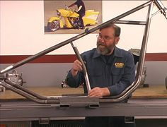 Details on how to build a chopper frame from the ground up and with step by step instructions.
