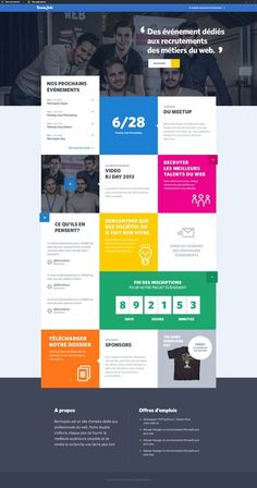 Remixjobs Design Sites, Homepage Design, App Design, Flat Design, Intranet Portal, Maquette Site Web, Intranet Design, Mise En Page Web, Design Responsive