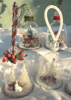 Snow Dome Ornaments