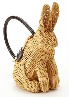PETER COTTONTAIL~wicker purse