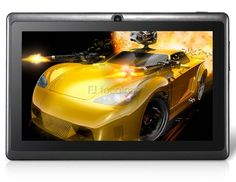 Android Tablet PC with Wi-Fi, External & Capacitive Touch (Black) S Wallpaper Hd, Sports Car Wallpaper, Car Wallpapers, Wi Fi, Preppy Car Accessories, Family Car Decals, Yellow Car, High Resolution Wallpapers, Free Cars