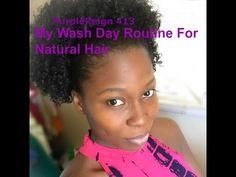 Wash Day Routine For Natural Hair (4A 4B 4C Hair)