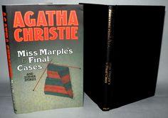 Agatha Christie -Miss Marples 6 Final Cases -Facsimile Edition, HB/DJ. Miss Marple, The Big Four, Agatha Christie, Dj, Cases, Books, Ebay, Vintage, Libros