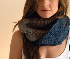 Cozy #knit scarf.