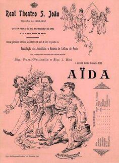 REAL TEATRO SAO JOAO. Epoca de 1905-1906 - REAL TEATRO SAO JOAO. Epoca de 1905-1906