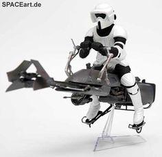 Star Wars: Speeder Bike, Modell-Bausatz ... http://spaceart.de/produkte/sw090.php