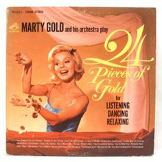 Marty Gold - 24 Pieces of Gold for Listening Dancing Relaxing