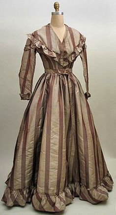 1860s silk dress Kentucky