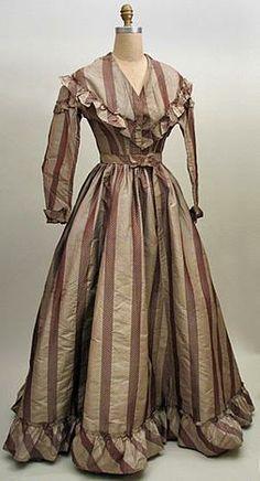 1860s silk dress Kentucky
