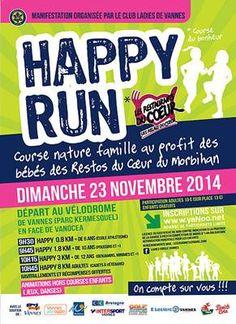 23/11 Happy run   RMS 89.6 FM Radio Vannes Agglo Auray Morbihan Sud Bretagne radio fm locale radio web locale