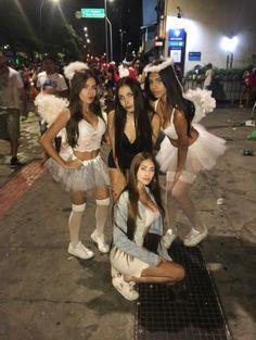 Cheerleader Halloween Costume, Devil Halloween Costumes, Halloween Outfits, Fall Outfits, Trendy Halloween, Halloween Christmas, Teen Trends, Fantasias Halloween, Halloween Disfraces