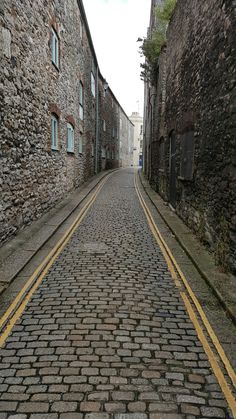 Top end of new St barbican Plymouth Devon Uk, Barbican, Plymouth, Railroad Tracks, Top, Crop Tee, Blouses