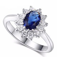 Princess Blue Ring