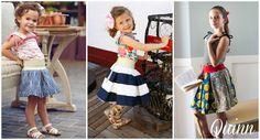 Quinn Skirt & Top PDF Sewing Pattern-Violette Field Threads