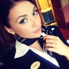 Aeroflot Stewardess @alishaevra