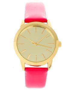 pink patent watch $40
