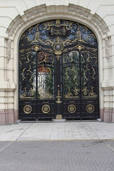 Cool Doors, Unique Doors, House Gate Design, Door Design, Entrance Gates, House Entrance, Door Entryway, Entry Doors, Architecture Wallpaper