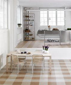 kitchen linoleum floor design ideas, pictures, remodel, and decor