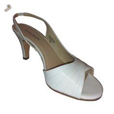 Karen Scott Women's Dena Pumps Slingback Heels Shoes Bone Size 9m - Karen scott pumps for women (*Amazon Partner-Link)