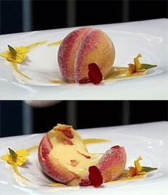 Filled apricot.