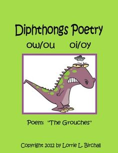 Six phonics poems for teaching diphthongs ow/ou and oi/oy. $1.50