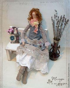Muñecos textiles con ropa estilo boho .. Debate sobre LiveInternet - Servicio rusos Diarios Online