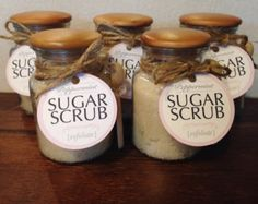Peppermint Sugar Scrub Gift Tag
