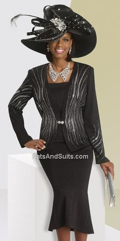 Donna Vinci KNITS Style 13062 Church Suits And Hats d7ab0f178907