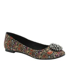 Take a look at this Black Opera Madra Ballet Flat by Rocket Dog on #zulily today!