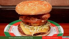 Resumen de cuenta de Twitter Analytics para rubenshamburger