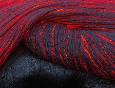 Folding lava. Image by Justin Reznick #nature #photography #lava #hawaii