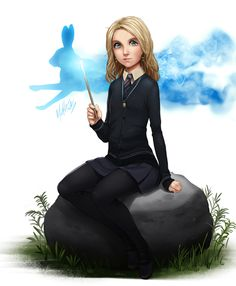 Harry Potter - Luna Lovegood by MLeth.deviantart.com on @deviantART