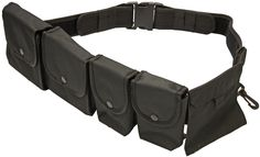 WOODSIDE PATROL BELT WITH POUCHES POLICE PRISON GUARD UTILITY SECURITY: Amazon.co.uk: Sports & Outdoors