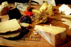 Cheeseboard by framboise, via Flickr. I love cheese boards!