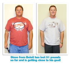 Steve lost 51 pounds with Medithin Weight Loss Clinics