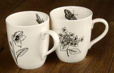 Botanic mugs