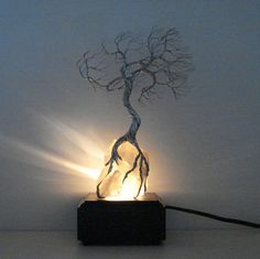 Wire Tree Of Life Moonlight Silver Wind SPiRiT by CrowsFeathers, $139.00