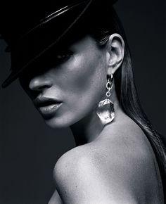 Kate Moss for Vogue UK September 2009