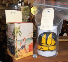 heaths old wares collectables, industrial antiques. Commonwealth Bank, Tins, Piggy Bank, Industrial, Canning, Street, Antiques, Vintage, Tin Cans