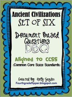 Ancient Civilizations DBQ for 6th grade