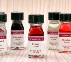 Cherry Flavoring Oil (1 dram) for Cupcakes, Cookies, Lollipops, Candy, Chocolate and Frosting