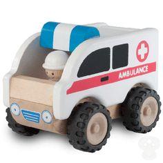 Wonderworld Wooden Ambulance Van