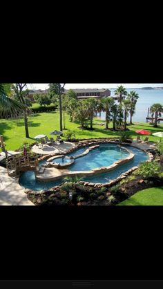 i would never get out. i just want a lazy river that goes