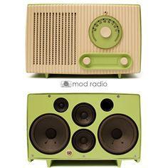 vintage radio mod modern mod - Google Search