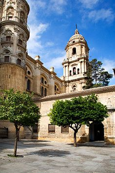 The Cathedral Malaga Spain