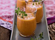 Gazpacho é uma opção de sopa para o verão. Receita de István Wessel | cold soup
