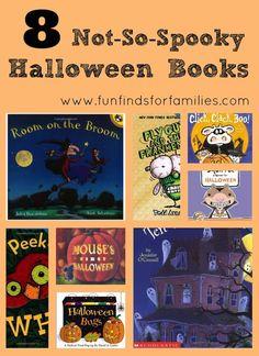 8 Not-So-Spooky Halloween Books