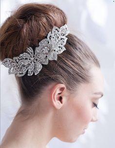 Simple bridal look.