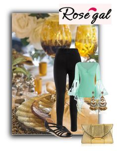 """""""rosegal28"""" by gold-phoenix ❤ liked on Polyvore featuring Judith Leiber"""